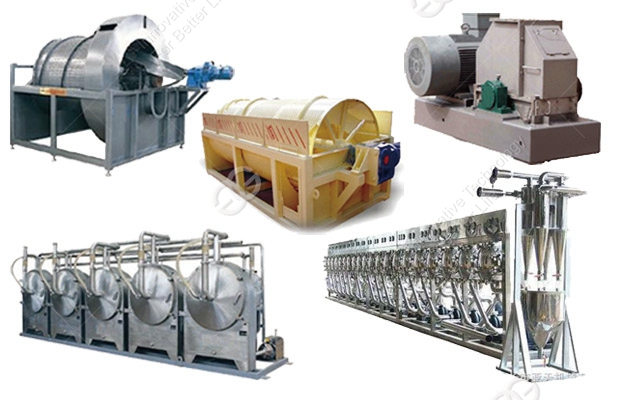 <b>Professional Sweet Potato Starch Production Line</b>