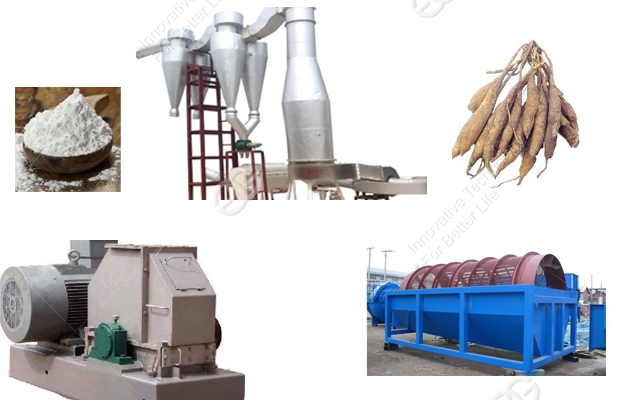 Cassava Starch Production Line with Best Price