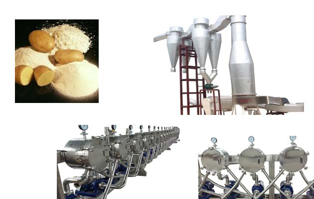 Automatic Potato Starch Production Line 2017 New Design