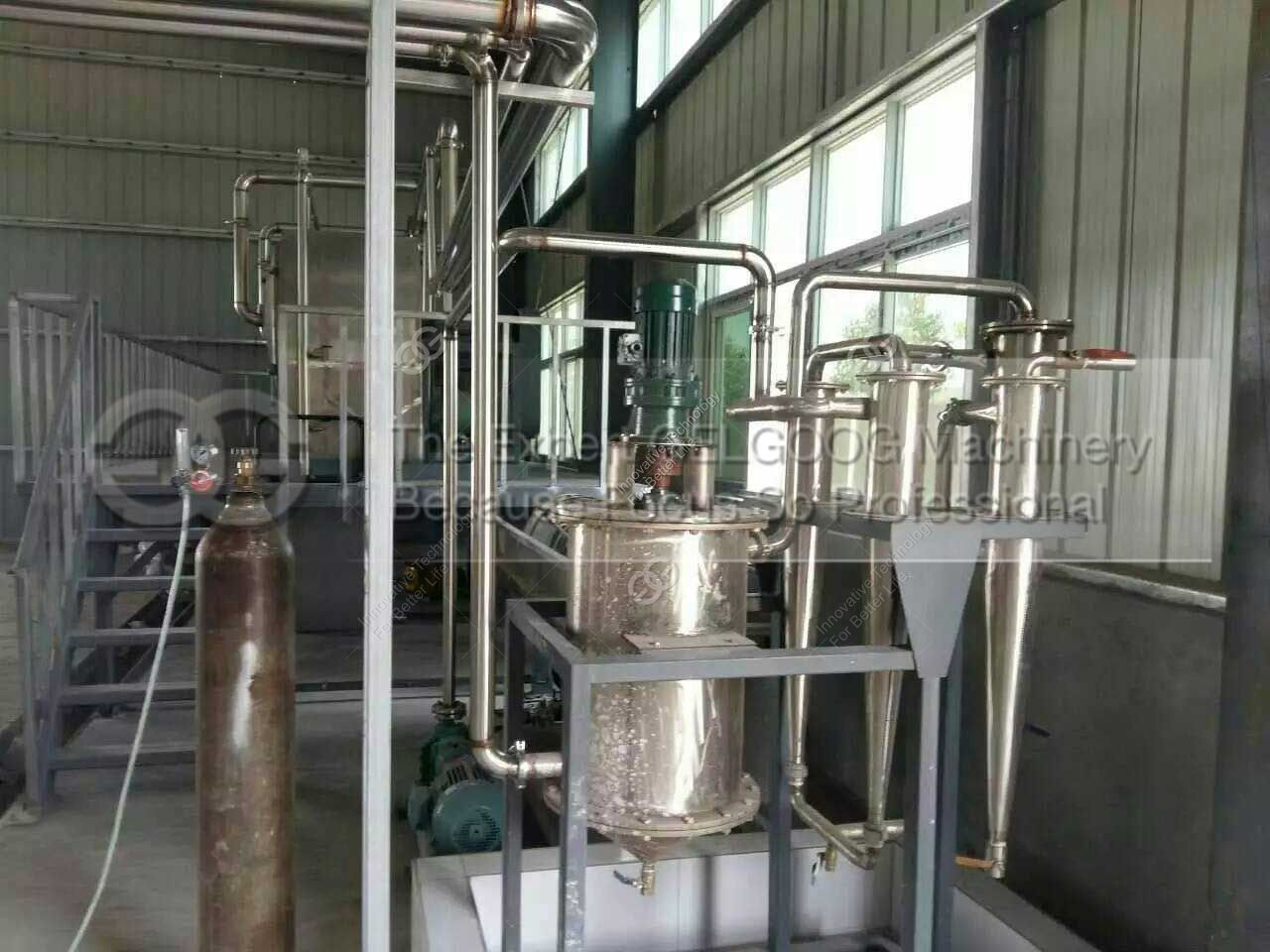 complete equipment list of cassava starch factory