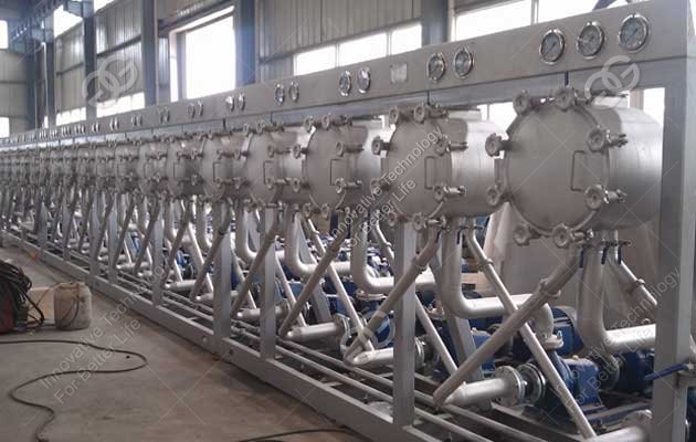 Manufacturer Food Grade Cassava Starch Hydrocyclone Machine
