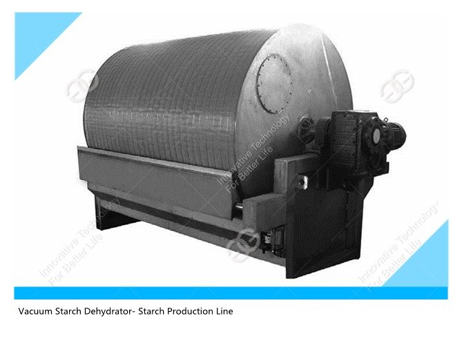 vacuum starch dehydrator |strach production line
