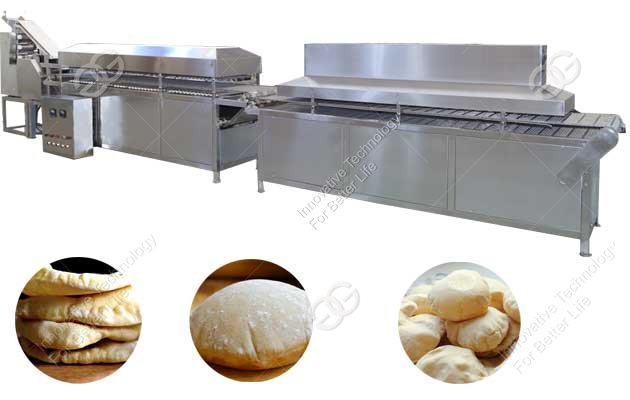 Automatic Pita Bread Making Machine Production Line For Sale