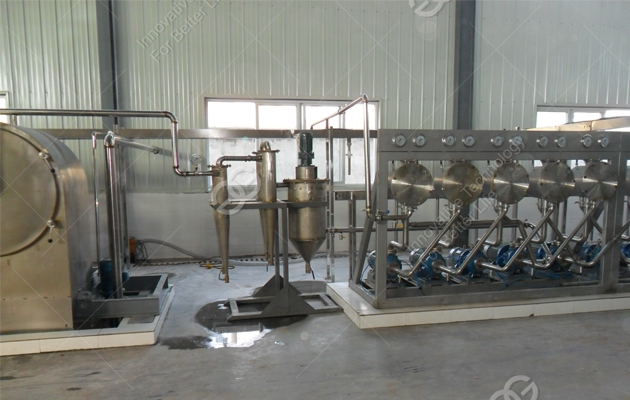 Automatic Potato Starch Production Line 2016 New Design