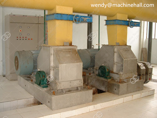 commercial cassava starch production plant