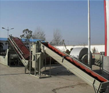 cassava convey machine|starch production line