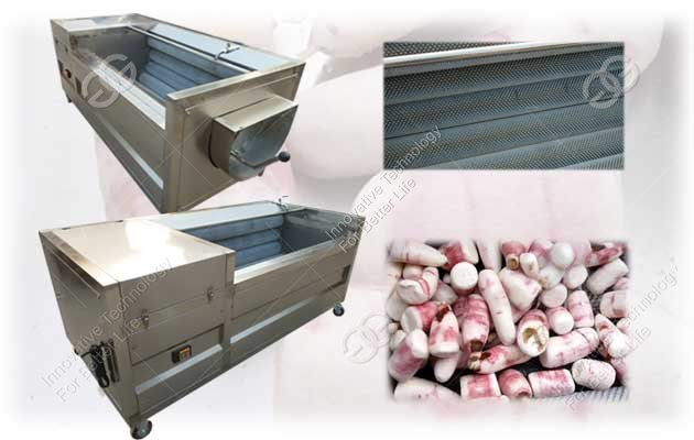 brush type cassava washing and peeling machine price