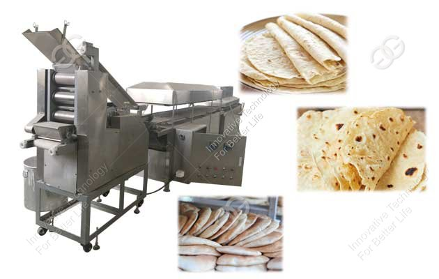 pita bread making machine india